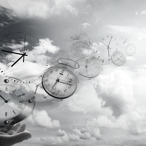 clocks in the sky
